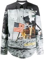 Calvin Klein Jeans Est. 1978 Moon Landing print shirt