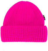Paul Smith ribbed knit beanie hat