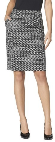 Merona Women's Doubleweave Pencil Skirt