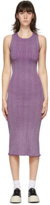 Simon Miller Purple Benny Rib Tank Dress