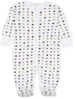Baby Steps Star Print Cotton Footie