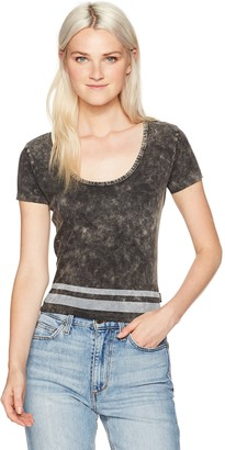 RVCA Women's Girl Crush Scoop Neck Shirt
