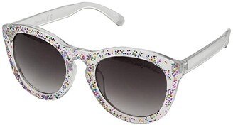 Sam Edelman Sparkle Cat Eye (Clear Rainbow) Fashion Sunglasses