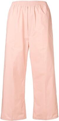 MM6 MAISON MARGIELA Flared Cropped Trousers