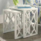 Tommy Bahama Ivory Key 2 Piece Nesting Tables Home