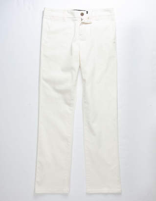 Rsq London Off White Boys Skinny Stretch Chino Pants