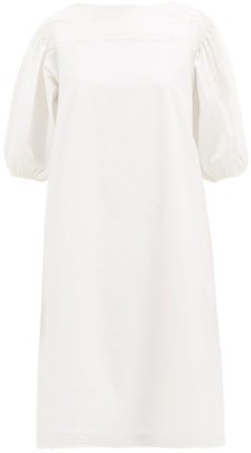 Merlette New York Aster Cotton-poplin Midi Dress - White