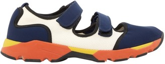 Marni Blue Polyester Trainers