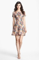 Collective Concepts Print Fit & Flare Dress