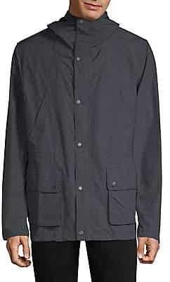 Barbour Men's Cogra Hooded Cotton Jacket