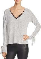 Vero Moda Gigi Marled Tie-Cuff Sweater