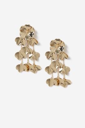 Topshop Flower Drop Earrings