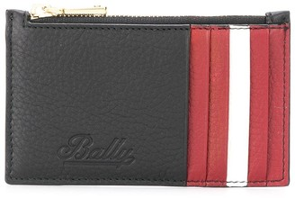 Bally striped detail wallet