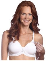 Leading Lady Nursing Bra - Underwire & Molded - White-36B