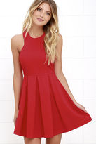 LuLu*s Mission Com-pleat Red Dress