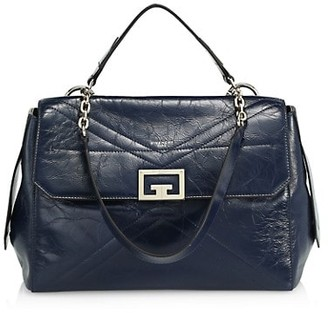 Givenchy Id Medium Flap Leather Bag