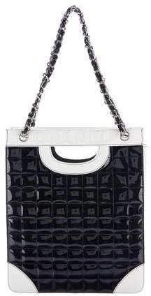 Chanel Chocolate Bar Shopping Tote