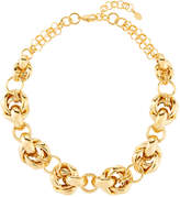 Jose & Maria Barrera Puffy-Link Chain Necklace