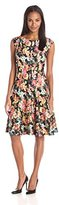 Julian Taylor Women's Floral-Print Dress