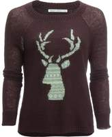 Woolrich Motif Mohair Crew Sweater - Women's