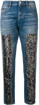 Philipp Plein Glitter Skinny Jeans