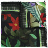 Mary Katrantzou Rose Garden print scarf