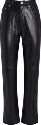 Nanushka Vegan Leather Vinni Slim Trousers