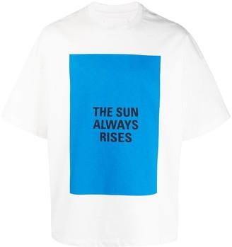 Jil Sander The Sun Always Rises T-shirt