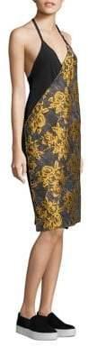 Public School Lonia Floral Jacquard Dress