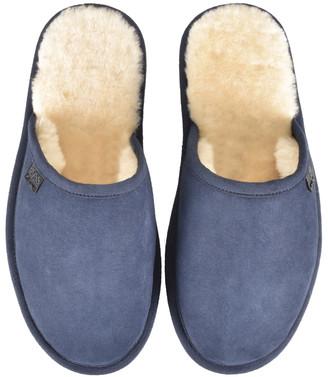 HUGO BOSS Home Slippers Navy