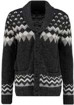 Abercrombie & Fitch Cardigan black pattern