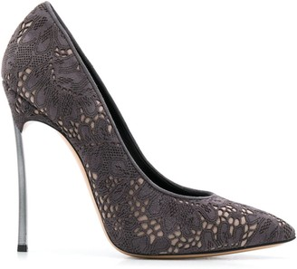 Casadei 130mm Laser-Cut Pumps
