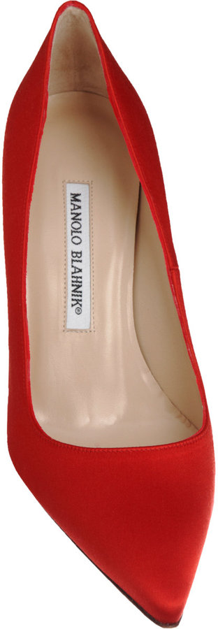 Manolo Blahnik Satin BB
