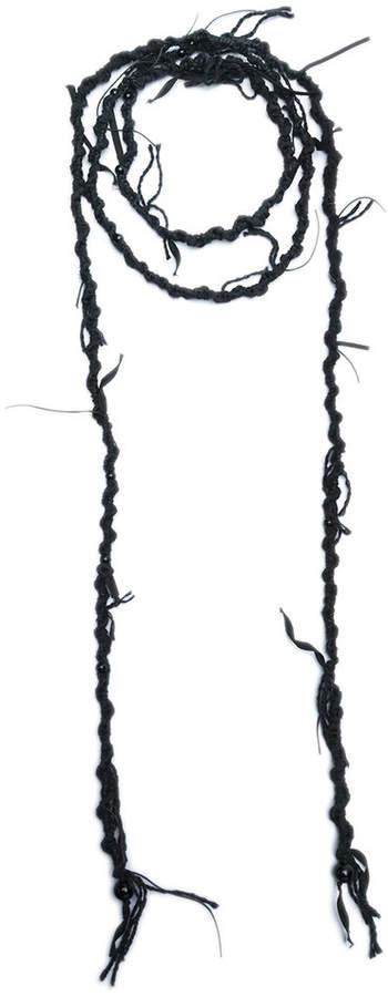 Ann Demeulemeester wraparound necklace