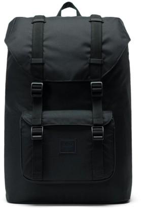 Herschel Little America - Mid Volume Black Backpack