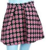 Marc by Marc Jacobs Bright Plaid Skirt- Pink