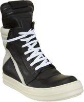 Rick Owens Side Zip High Top Sneaker