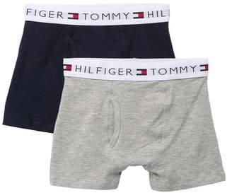 Tommy Hilfiger Solid Boxer Briefs - Pack of 2 (Big Boys)