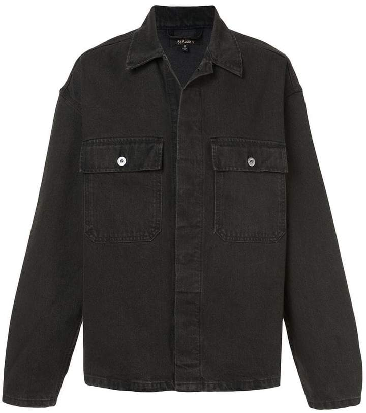 Yeezy season 6 denim jacket