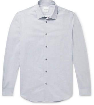 Paul Smith Soho Melange Cotton And Linen-Blend Shirt