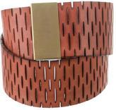 Diane von Furstenberg Cutout Waist Belt