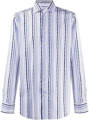 Etro Striped Long-Sleeve Shirt