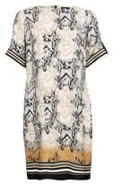 Dorothy Perkins Womens Multi Colour Snake Print Shift Dress, Multi Colour