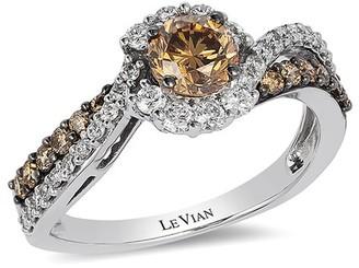 LeVian Le Vian 14K Vanilla Gold 0.99 Ct. Tw. Diamond Ring