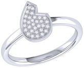 Lmj Street Cycle Ring In Sterling Silver