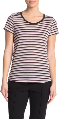 Scotch & Soda Striped Short Sleeve T-Shirt