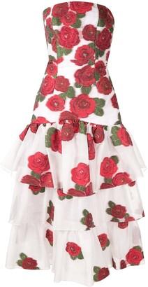 Bambah Roses ruffle dress