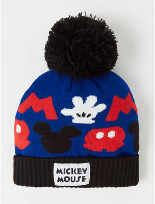 Bobble George Disney Mickey Mouse Blue Hat