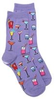 Hot Sox Drinks Womens Crew Socks