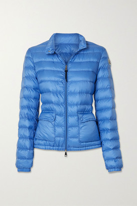 Moncler Quilted Shell Down Jacket - Light blue